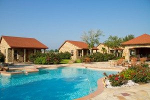 Poolside and Cottages