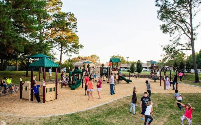 Harris County MUD 346: Greentrails Playground